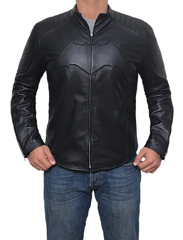BATMAN JUSTICE LEAGUE LEATHER JACKET