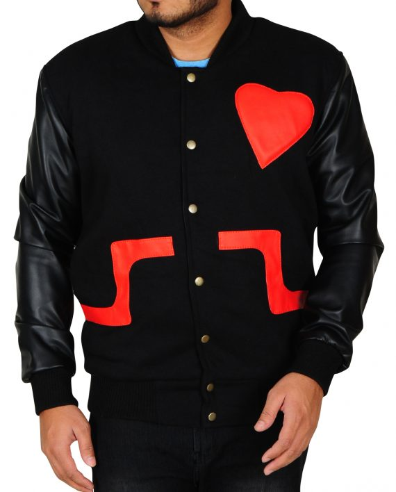 CHRIS BROWN LOVE NOT HATE VALENTINES UNISEX JACKET