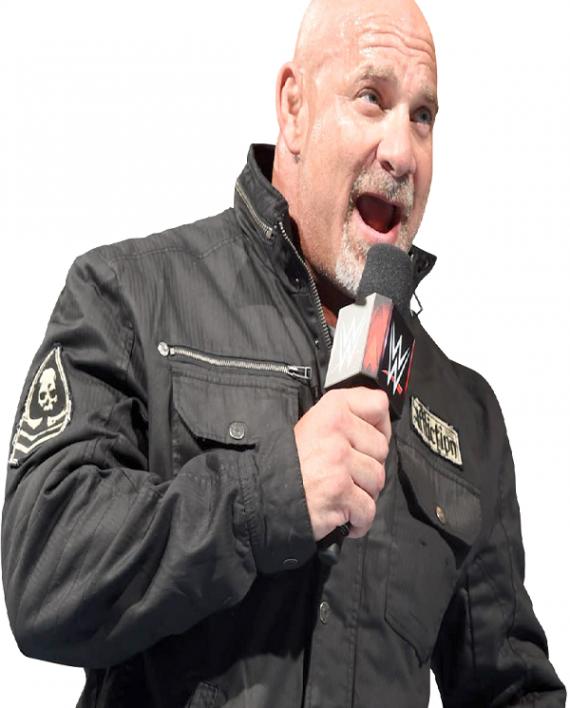 Goldberg WWE Superstar Black Cotton Jacket
