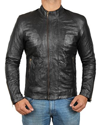 Mission Impossible 5 Black Leather Jacket