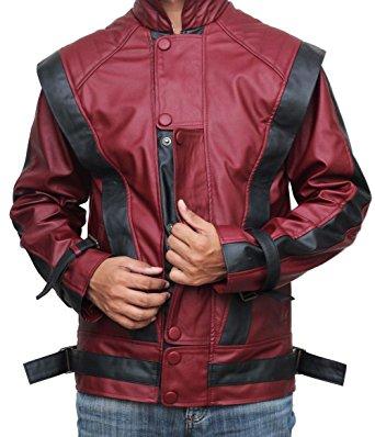 Michael Jackson Leather Jacket - Red Thriller Leather Jacket