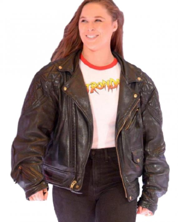 Ronda Rousey Bober Leather Jacket