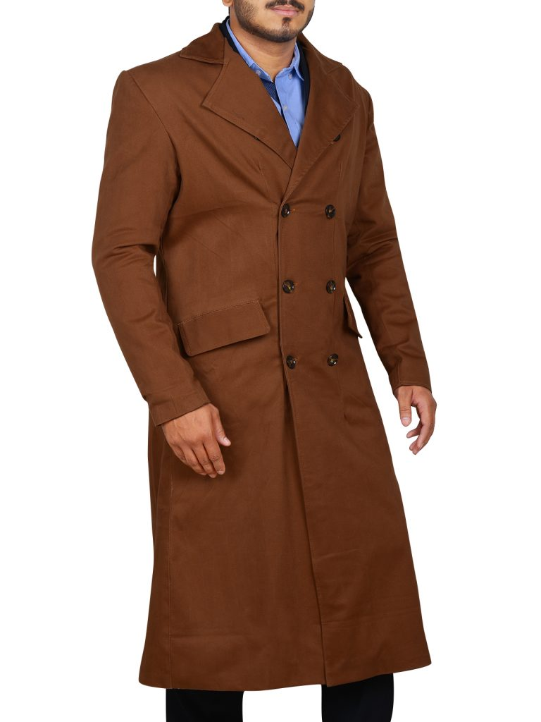 10th-Doctor-David-Tennant-Coat-4  sc 1 st  CelebsCostumes & 10th DR.Who Cosplay Trench Coat - CelebsCostumes