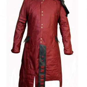 Chris Pratt Guardians Of The Galaxy Maroon Coat