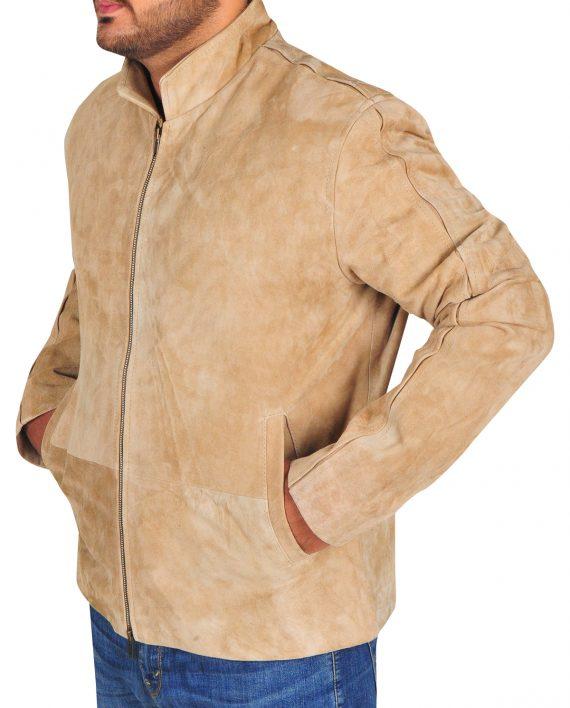 Daniel-Craig-Brown-Morroco-Suede-Jacket
