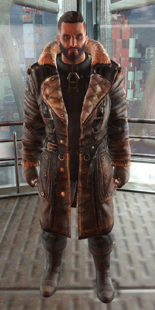 Elder Maxson Fallout 4 Coat - Elder Maxson Trench Coat