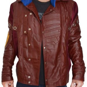 CHRIS PRATT GUARDIANS OF THE GALAXY PETER QUILL JACKET