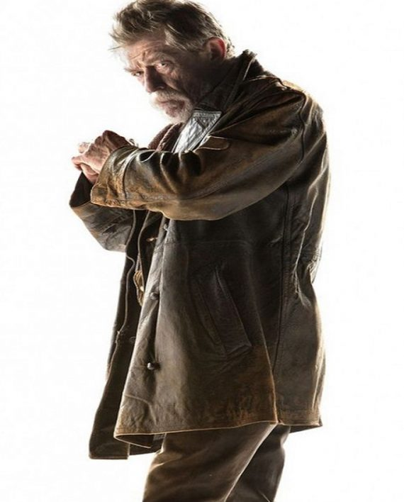 The Doctor Who John Hurt Leather Coat