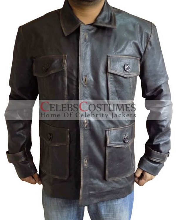 Dean Winchester Supernatural season 7 leather Coat