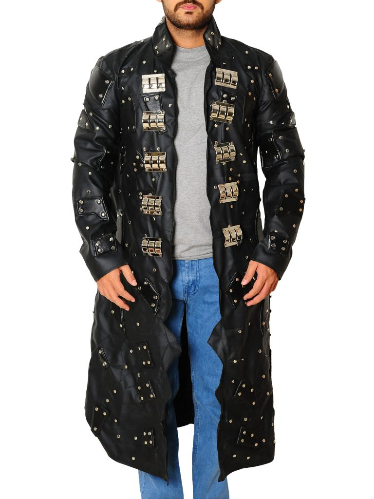 Edge Wwe Superstar Trench Long Coat Wwe Coat For Sale