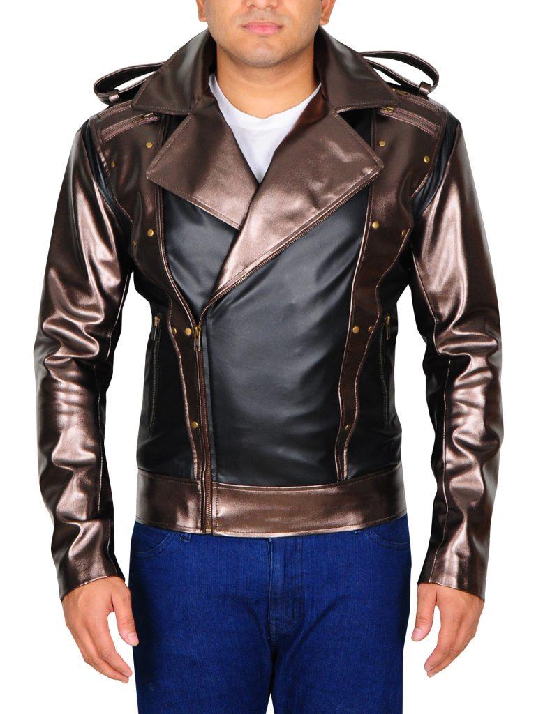 X-Men Apocalypse Peter Maximoff Quicksilver Cosplay Costume Halloween Jacket