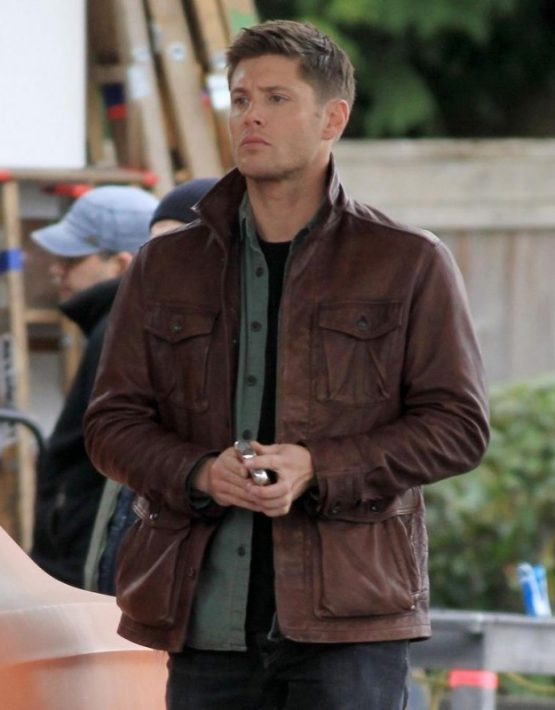 Dean Winchester Supernatural Season 7 Leather Jacket ...  Dean Winchester...