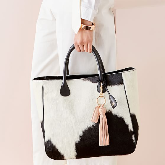 Cowhide Rugs Leather Bag