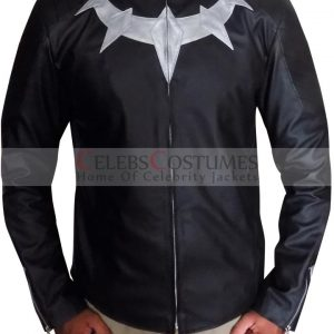 Avengers Infinity War New Black Panther Leather Jacket