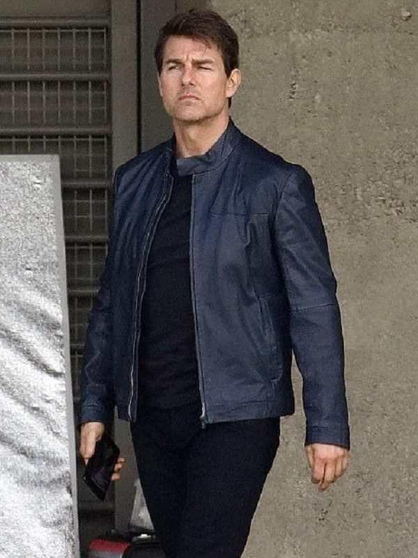 Mission Impossible Fallout Tom Cruise Blue Jacket
