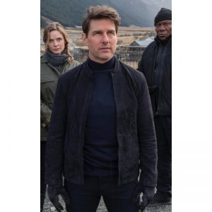 MI6 Black Suede Jacket