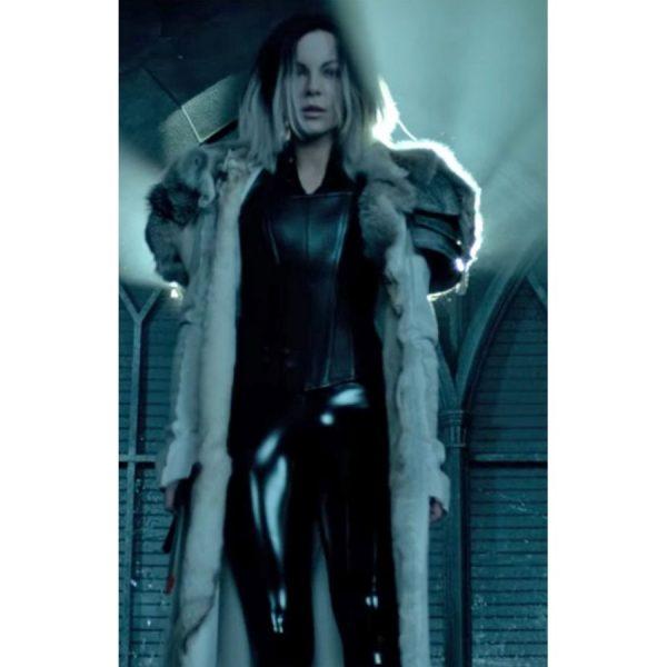 Kate Beckinsale Selene Underworld Blood War Coat