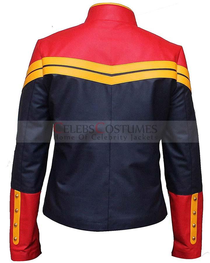 Captain Marvel Costume Jacket Captain Marvel Movie Jacket