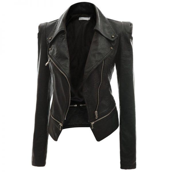 Alabama Women Black Leather Jacket