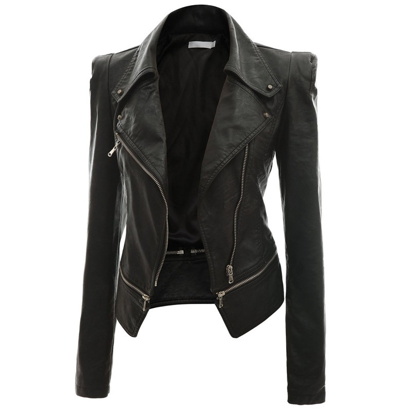 Alabama Women Black Leather Jacket  3f0f35c2c0
