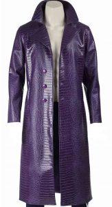 Suicide Squad Joker Leather Coat