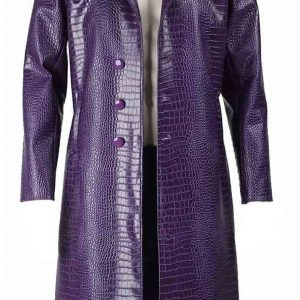Suicide Squad Joker Leather Coat