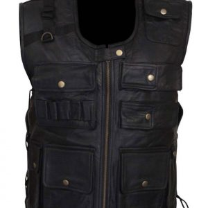 The Shield Roman Reigns Tactical Leather Vest