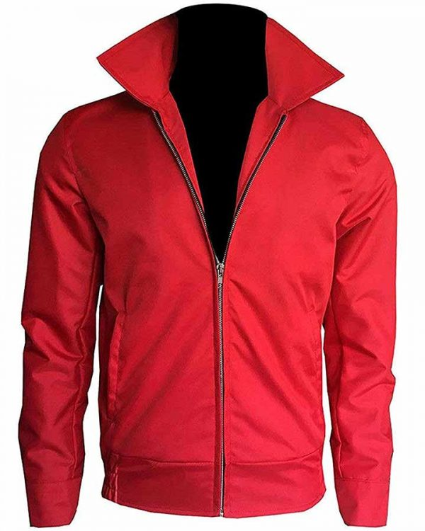 James Dean Rebel Without A Cause Red Cotton Jacket
