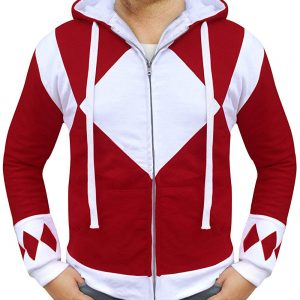 power rangers red hoodie