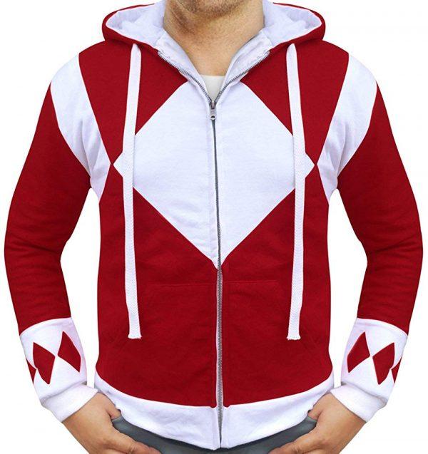 power rangers red hoodie