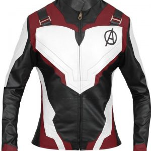 Avengers Endgame Black Widow Quantum Realm Jacket