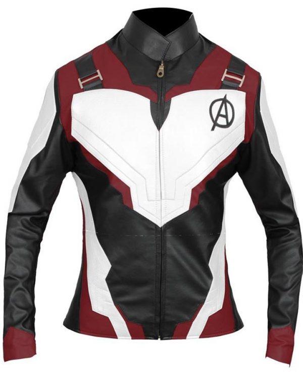 Avengers Endgame Black Widow Quantum Realm Jacket