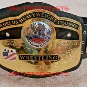 Domed Globe NWA World Heavyweight Wrestling Championship Belt