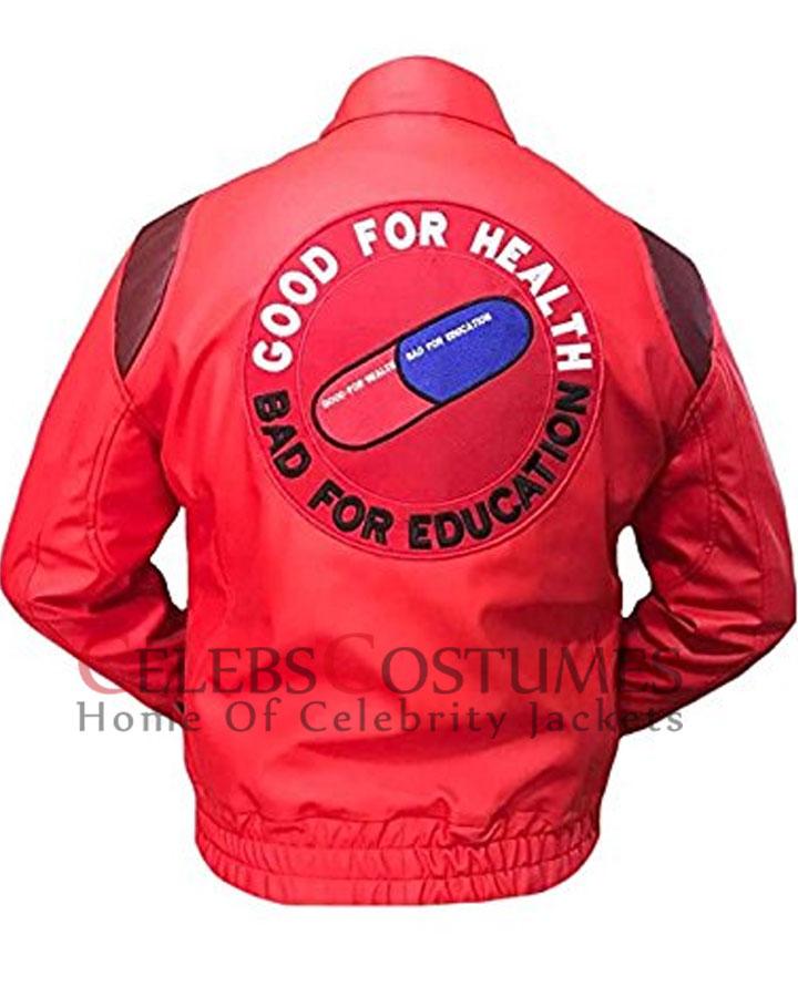 Akira Kaneda Red Leather Jacket Akira Jacket For Men Celebscostumes