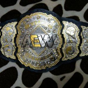 AEW World Heavyweight Championship Belt