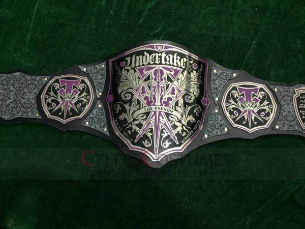 Undertaker Custom Championship Belt