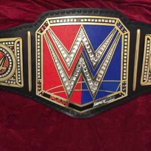 WWE Raw vs Smackdown Championship Belt
