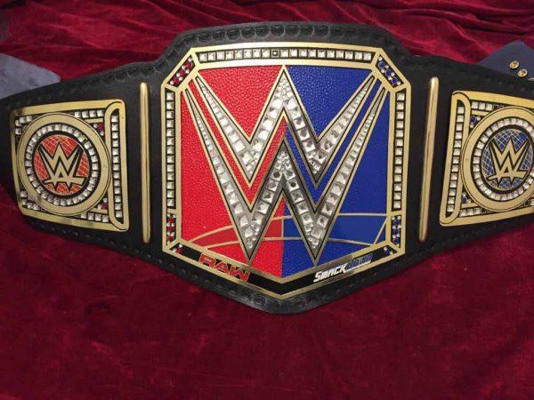 WWE Raw vs Smackdown Championship Belt