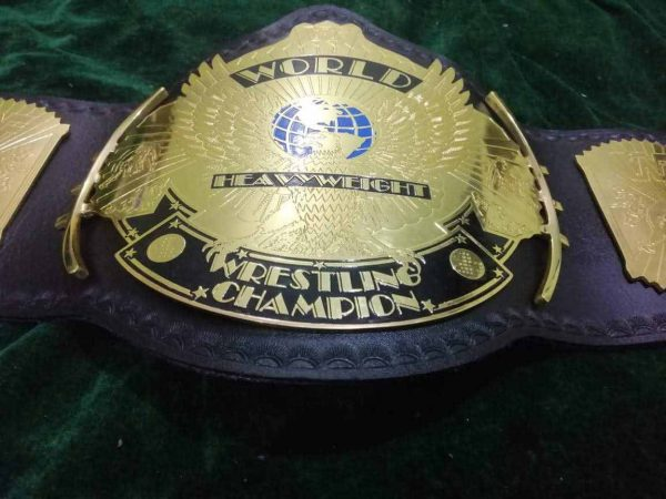 Classic Gold Winged Eagle Championship Belt