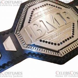 UFC BMF 4MM Zinc Championship Belt