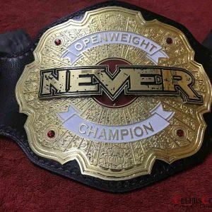 NEVER Openweight Championship Belt