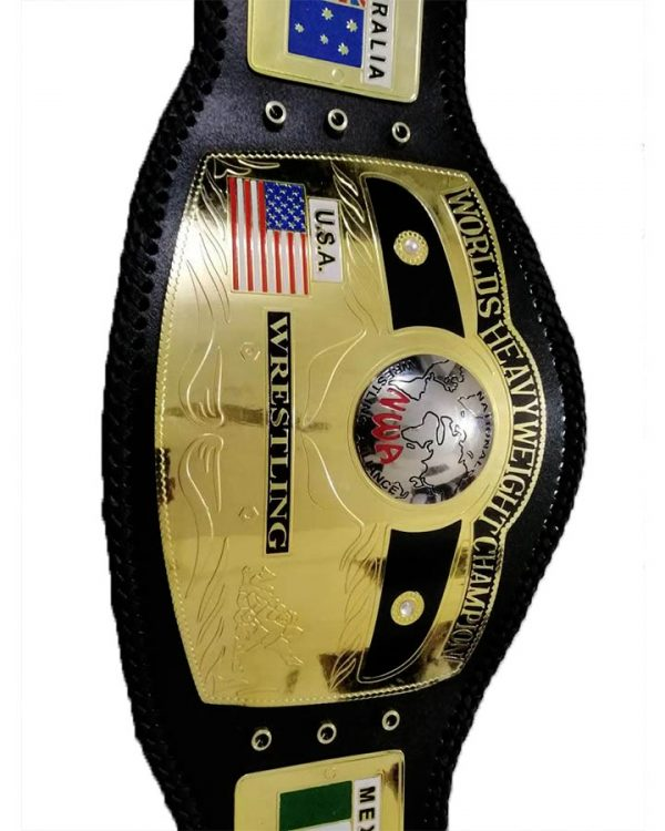 NWA Domed Worlds Heavyweight Championship Belt | NWA Belt