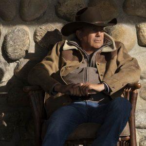 Yellowstone S03 Kevin Costner Shearling Jacket